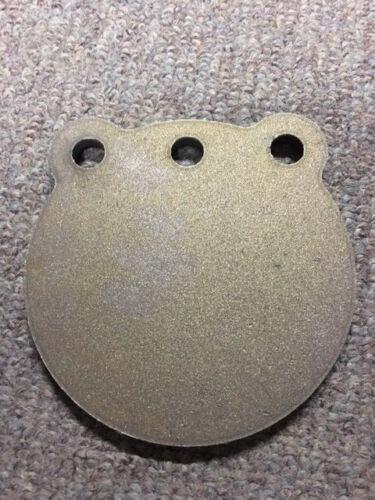 "USA MADE! AR500 Steel Target Hanging Gong 8/"" x 3//8/"" Mountable 3 Hole Plate IDPA"