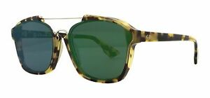 8c59847c9066 Image is loading Christian-Dior-ABSTRACT-spotted-havana-green-mirror-00F-