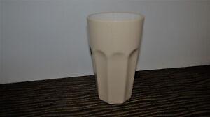 IKEA-original-Latte-Macchiato-Becher-POKAL-Kaffeebecher-Creme-15-cm-hoch