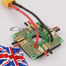RC Quadcopter Power Distribution Board LITE - XT60 Battery & 2mm ESC connections