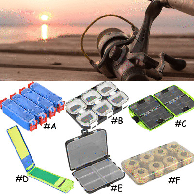 Plastic Fishing Lure Fish Hook Bait Storage Tackle Box Case Container Organizer