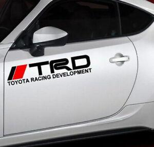 TRD-Toyota-Tacoma-Racing-Motor-Sports-Decal-Vinyl-Decal-Sticker-2pcs-Set