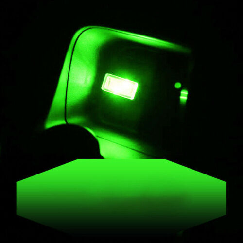 New 1PCS Universal Car Mini USB LED Interior Light Neon Atmosphere Lamp Green