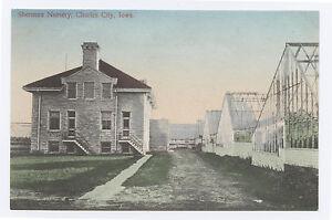Image Is Loading Hc Sherman Nursery Charles City Ia C 1910