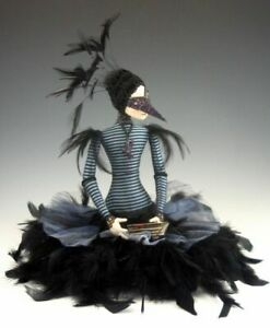 "Cloth Art Doll Pattern//Class Tutorial /""October Morn/"" By Cindee Moyer"