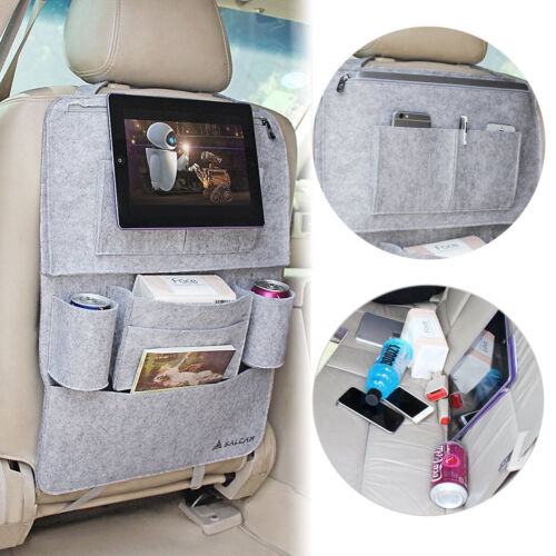Autositz Schutzfolie Tasche Auto Organizer mit 8 Taschen Rückenlehnentasche Auto