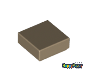 Lego 10x Fliese 1x1 Dunkel Beige Dark Tan Tile 3070b Neuware New