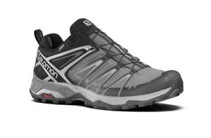 SALOMON Mens Black XUltra3 GORE-TEX Walking Shoes Trainers UK 7 BNWT