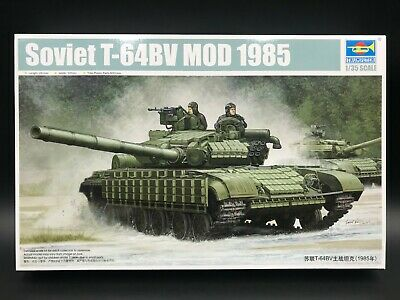 Trumpeter 05522 1//35 Soviet T-64BV MOD 1985