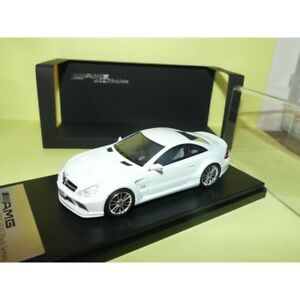 Mercedes Sl 65 Amg Noir Série Blanc Schuco Absolute 1:43