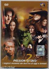 Passion for DVD 2 - DVD trailer FOX cinema 2003 come nuovo