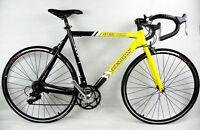 Teman Drop Handlebar Racing Bike-shimano 21 Speed Alumilium Frame Yellow/black