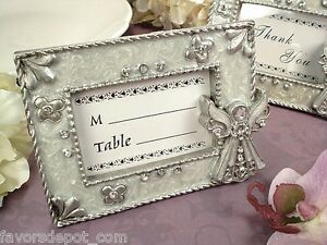 Details about 20 Angel Theme Frame Baptism Christening Communion Favor  Place Card Favors