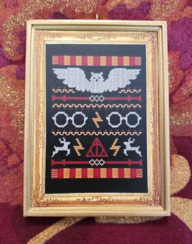 Harry Potter Ugly Christmas Sweater Image Ornament//Magnet//Dollhouse miniature