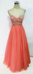 City Triangles Pink Prom Evening Party Gown 3 $85 NWT