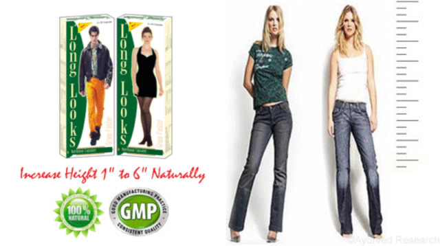 Long Looks - Herbal 60 Capsule / Pack - Gain Height Increase Taller Growth