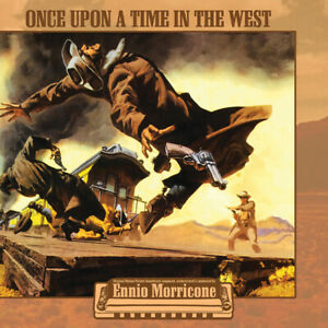 Ennio Morricone - Once Upon A Time In The West Soundtrack Yellow Vinyl LP Record