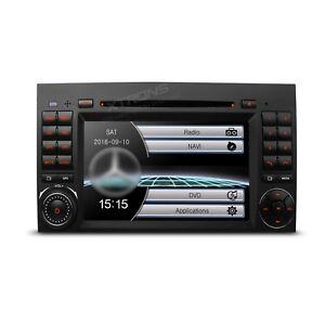 AUTORADIO-7-034-Mercedes-Classe-A-B-Navigatore-Gps-Comandi-Volante-Dvd-Usb-Video