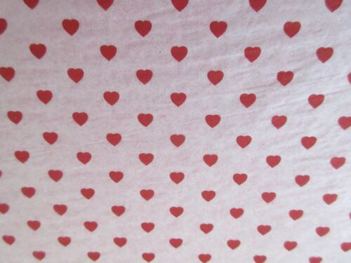 "12 SHEETS VALENTINE RED HEART TISSUE PAPER~20/""x30/""~12 HEART-LOVE TISSUE PAPER"