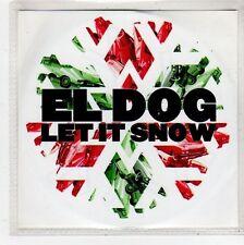 (FQ686) El Dog, Let It Snow - 2009 DJ CD