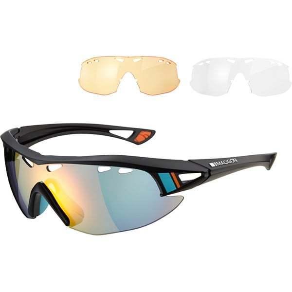 Madison RECON Ciclismo Bici Equitación Gafas Gafas Gafas Pack with 3 lentes  Tienda de moda y compras online.