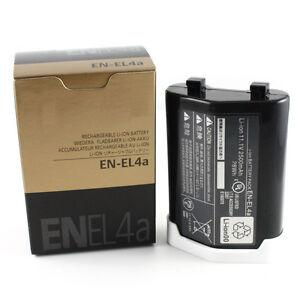 Nueva Batería EN-EL4A Nikon D2 D2H D2Hs D2x D2xs D3 D3S D3X F6