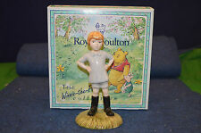 Lovely Royal Doulton ''Christopher Robin'' WP9 70th Anniversary Boxed USC RD5518