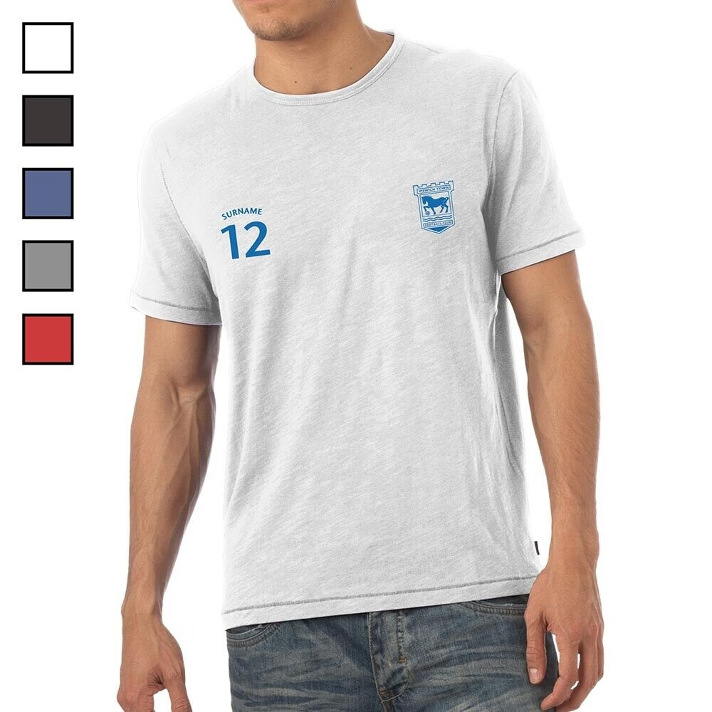 Ipswich Town F.C - Personalised Mens T-Shirt (SPORTS)