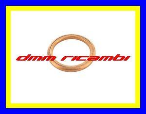Guarnizione-collettore-scarico-testata-SUZUKI-BURGMAN-400-14-marmitta-rame-2014