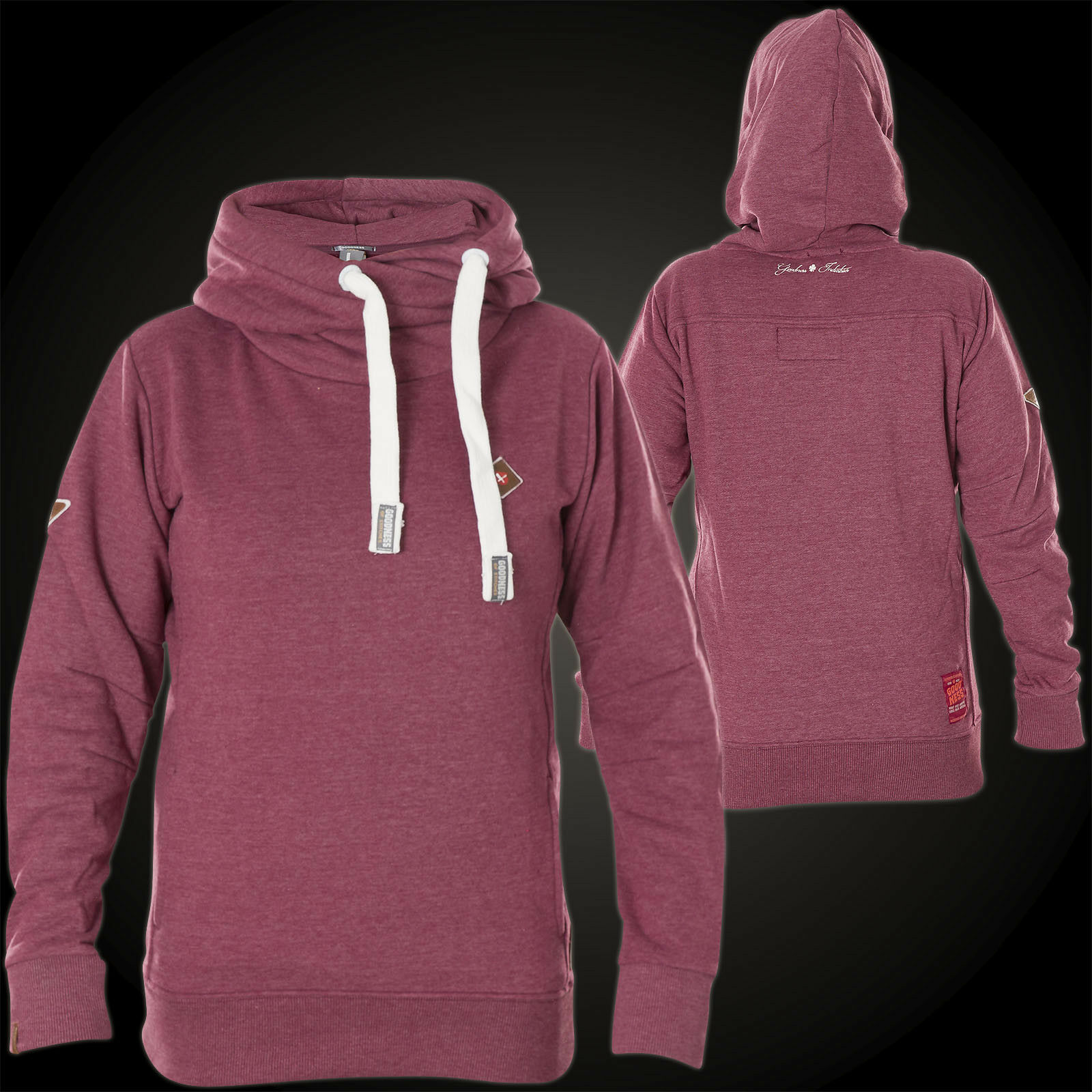 Goodness Industries Woman Hoody Carry Magenta