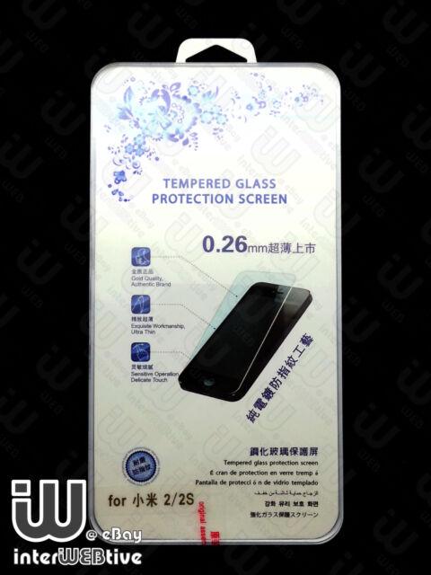0.26mm Korea Made Tempered Glass Screen Protector For Xiaomi Miui MI2 /MI2S / M2