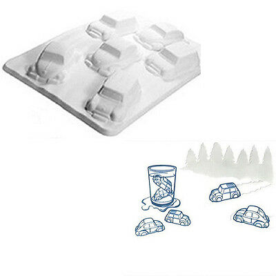 DIY Summer Novelty Ice Cold Car Shaped Ice Tray Ice Cubes Mould (T-Ice Tray)