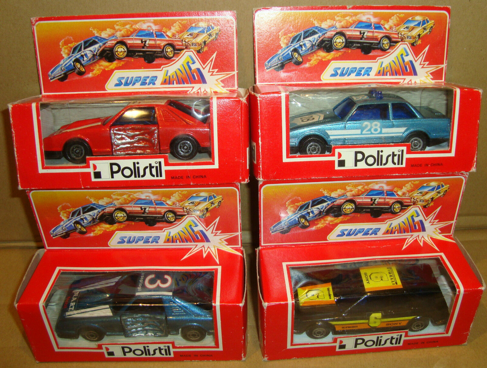 POLISTIL SUPER BANG SET 4 AUTO