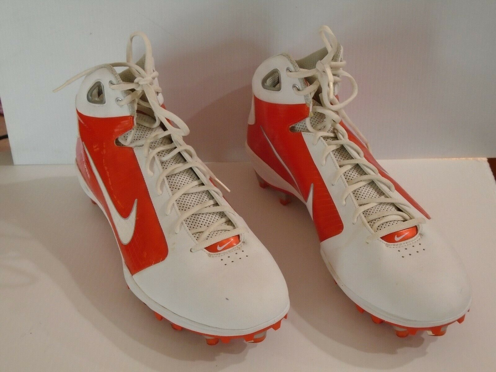 NIKE FLYWIRE Football Cleats shoes Spikes sz 16