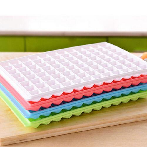 96 Gitter Eiswürfelform Eiswürfelbereiter Eiswürfelbehälter Eisform-Würfelschale