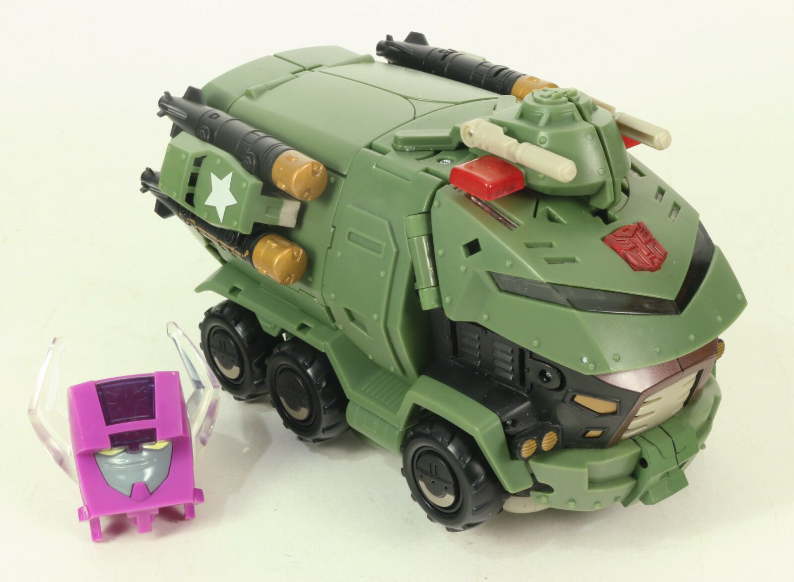Transformers Animated Leader Class cloison 2008