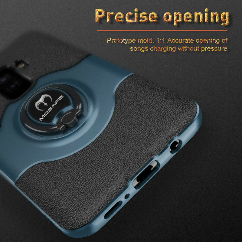 For Samsung Galaxy S9/S8/Plus/Note 9 8 Ring Holder Shockproof Armor Case Cover 5