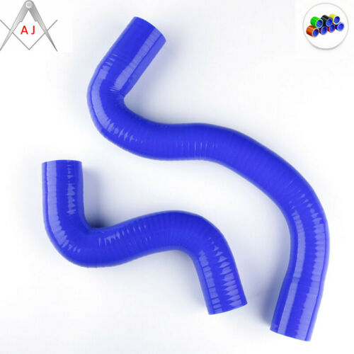 Blue For PEUGEOT 206 MANUL 1.6L TU5JP4 16V Silicone Radiator Hose Kit 1998-2007