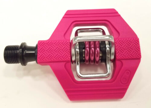 Crank Brothers Candy 1 Clipless Bike XC Trail Pedals /& Cleats Bros MAGENTA//PINK