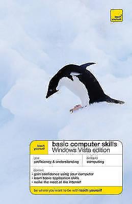 1 of 1 - Teach Yourself Basic Computer Skills: Windows Vista Edition, Stephen, Moira, New
