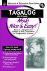 Language Learning: Tagalog (Pilipino) by Research and Education Association Editors (2001, Paperback)