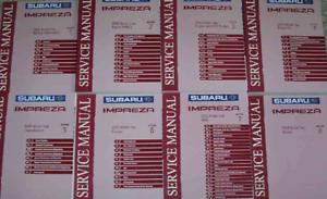 2005-Subaru-Impreza-Servicio-Reparacion-Tienda-Taller-Manual-Juego-OEM-Fabrica