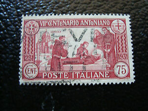 Italy-Stamp-Yvert-and-Tellier-N-277-Obl-A4-Stamp-Italy