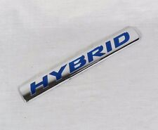 HONDA CIVIC HYBRID EMBLEM 06-12 BACK TRUNK OEM BADGE sign symbol logo chrome