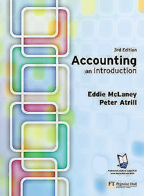 Atrill, Dr Peter : Accounting: An Introduction