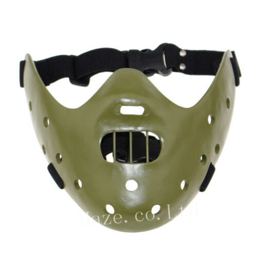 Halloween Schweigen der Lämmer Hannibal Lecter Mask Party Kostüm Requisiten