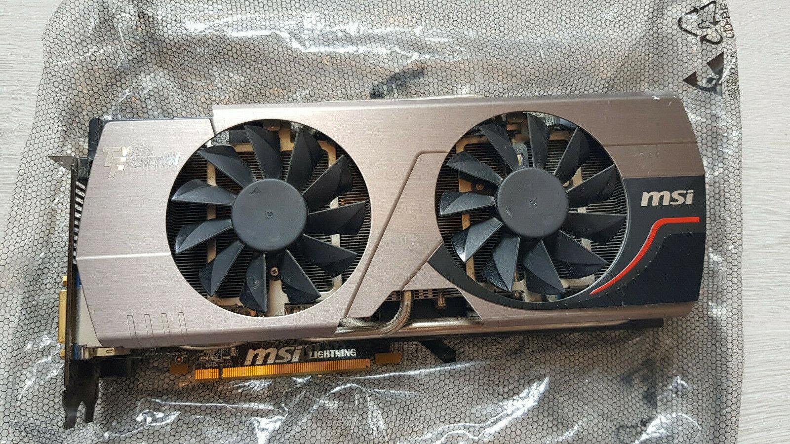 MSI NVIDIA GeForce GTX 580 Lightning (1536 MB) (V256