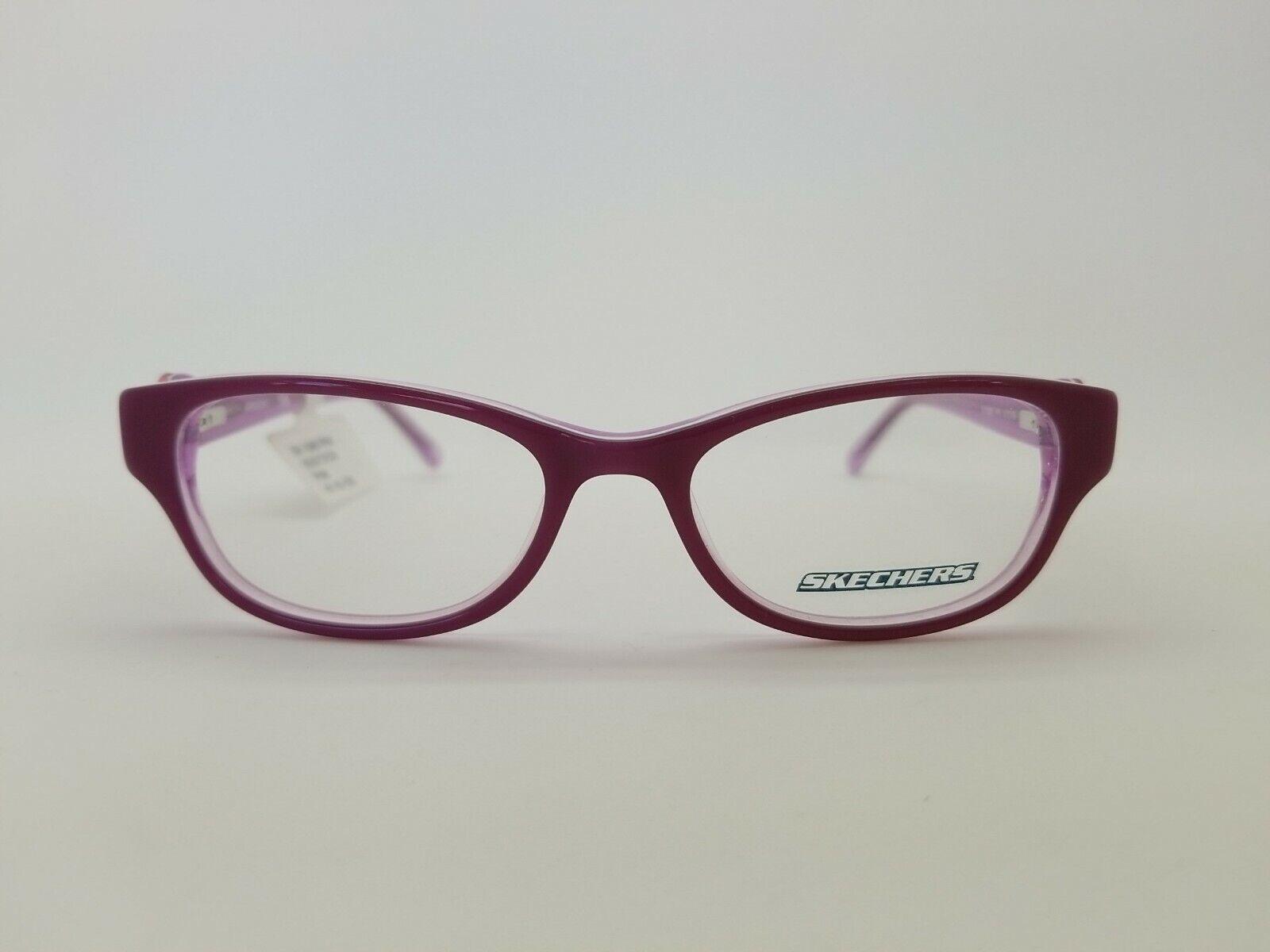 1 Unit NEW Skechers RX Ready Pink Prescription Eyeglasses Frame 47-16-130 #211