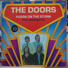THE DOORS RIDERS ON THE STORM/THE MOSQUITO RARE FRENCH SP ELEKTRA 1972