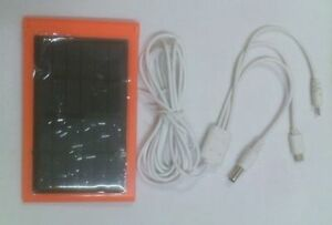 Solar mobile charger for samsung Micromax torch power bank & emergency Light